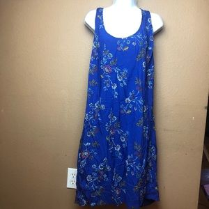 Old Navy NWT Blue Floral Dress Sz XL
